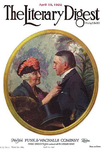 1922-04-15-Literary-Digest-Norman-Rockwell-cover-Woman-Pinning-Boutonniere-on-Man-350-Digimarc