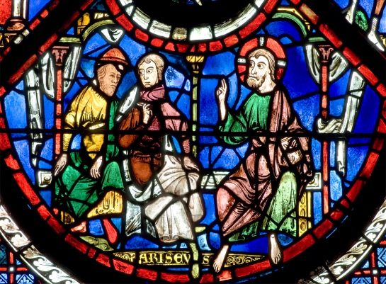 The Good Samaritan Window (panel 4), Chartres Cathedral