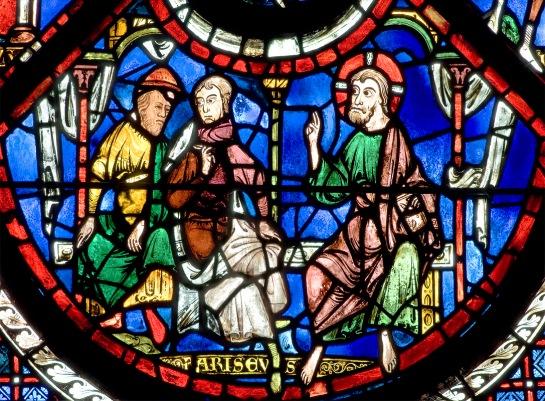 The Good Samaritan Window (panel 4), Chartres Cathedral