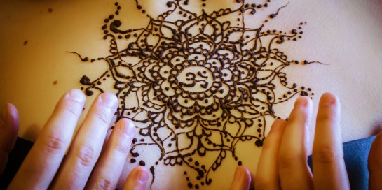 Om Mehndi India Design Henna
